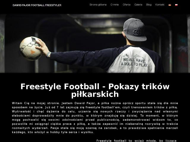 Football Freestyle Dawid Pajor